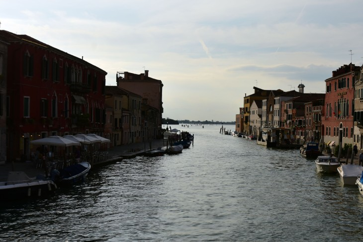 A canal in the late afternoon in Venice, Italy on Saturday, June 11, 2016. The city of Venice is made up of over 100 islands sprinkled throughout the Venetian Lagoon located between the Italian mainland and the Adriatic Sea and are all connected by canals of varying sizes.